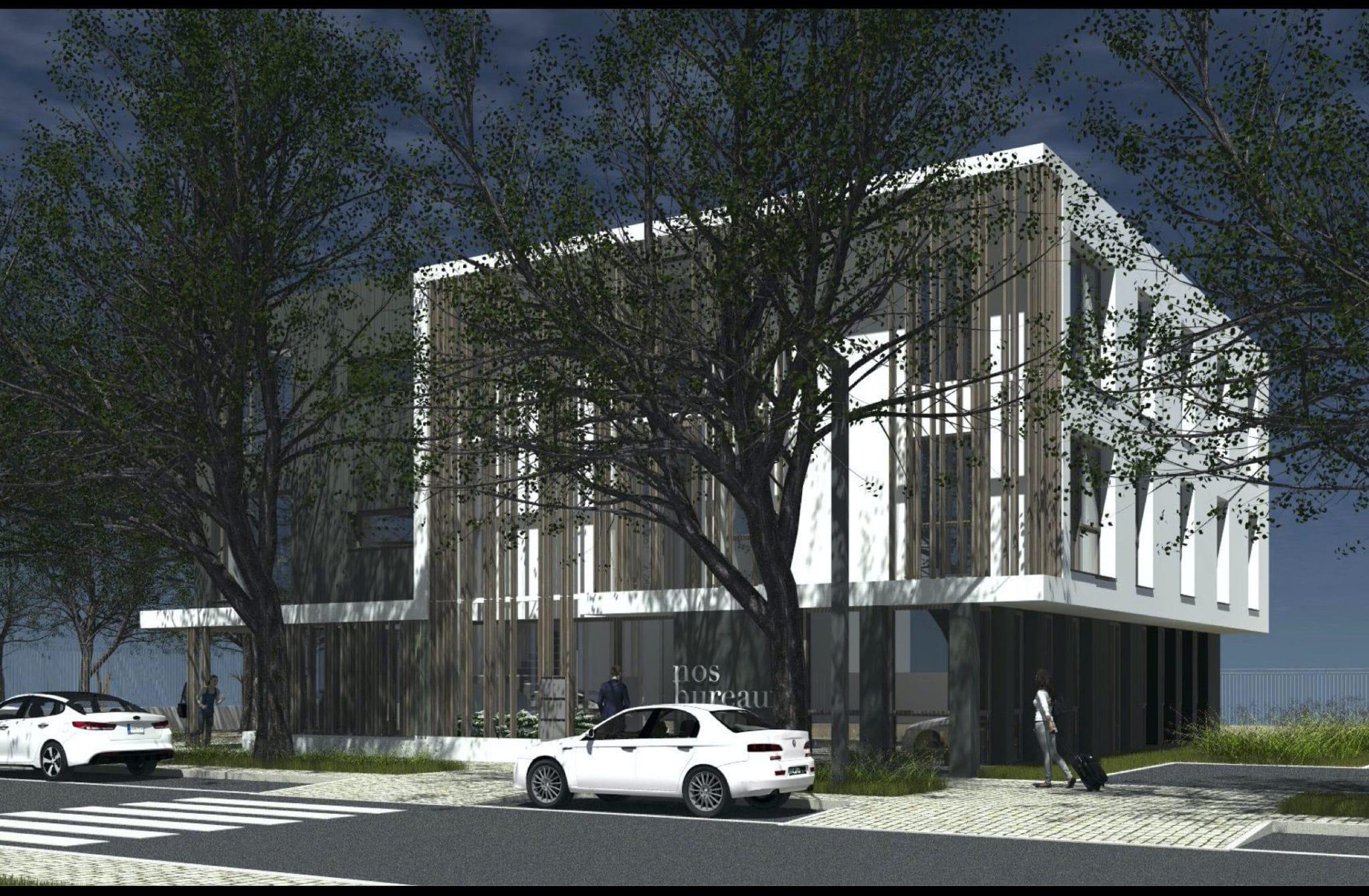 Bâtiment Espaces Tertiaires Lahitolle (projet)